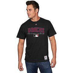 Men's Majestic Arizona Diamondbacks Team Drive Tee