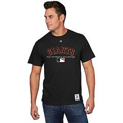 Men's Majestic San Francisco Giants Team Drive Tee