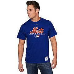 Men's Majestic New York Mets Team Drive Tee