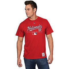 Men's Majestic Washington Nationals Team Drive Tee