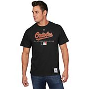 Men's Majestic Baltimore Orioles Team Drive Tee