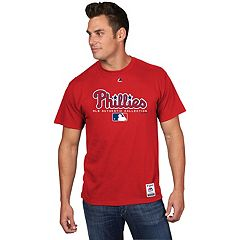 Men's Majestic Philadelphia Phillies Team Drive Tee