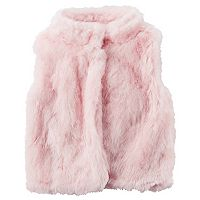 Girls 4-8 Carter's Faux Fur Vest