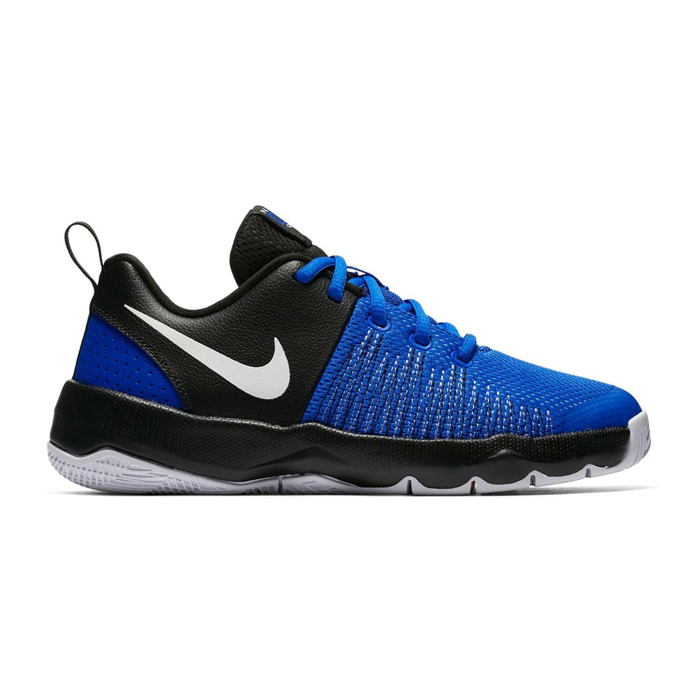 Nike Team Hustle Quick Grade School Boys\u0027 Basketball Shoes