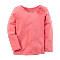 Girls 4-8 Carter's Bow Tee