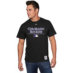 Men's Majestic Colorado Rockies Team Drive Tee