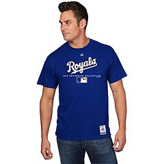 Men's Majestic Kansas City Royals Team Drive Tee