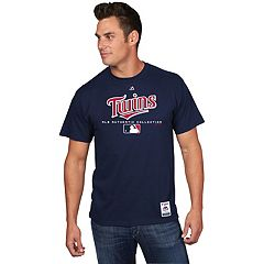 Men's Majestic Minnesota Twins Team Drive Tee