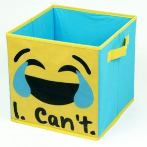 EmojiPals Collapsible 2-pack Soft Storage Cubes