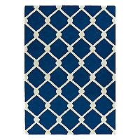 Kaleen Spaces Bliss Trellis Wool Rug