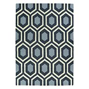 Kaleen Spaces Capri Geometric Wool Rug