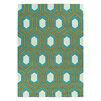Kaleen Spaces Capri Geometric Wool Rug