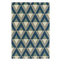 Kaleen Spaces Gable Geometric Wool Rug
