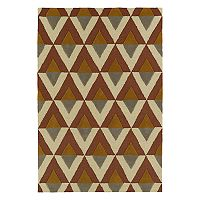 Kaleen Spaces Gable Geometric Wool Rug