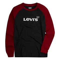Boys 8-20 Levi's® Thermal Raglan Tee