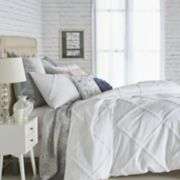 Peri Chenille Lattice Comforter Set