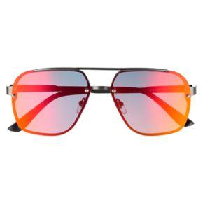 Men's Levi's® Polar Back Mounted Color Mirrored Navigator Sunglasses
