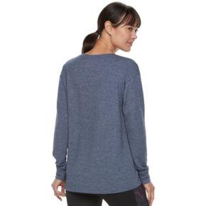 Women's Tek Gear® Lace-Up Long Sleeve Top