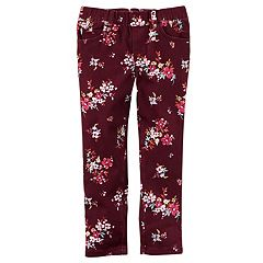 Girls 4-8 Carter's Printed Pants