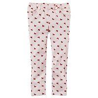 Girls 4-8 Carter's Printed Pants