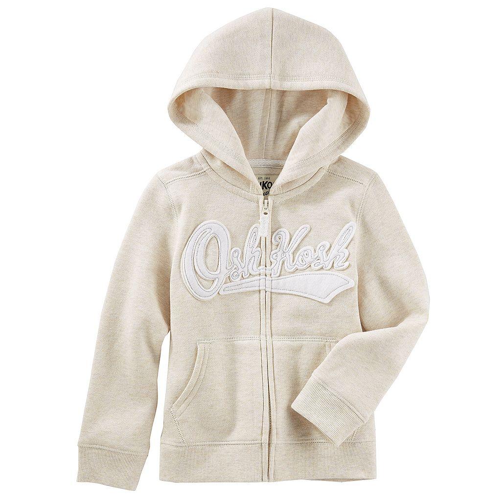 Girls 4-12 OshKosh B'gosh® Logo Zipper Hoodie