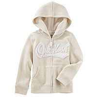 Girls 4-12 OshKosh B'gosh® Logo Zipper Hoodie