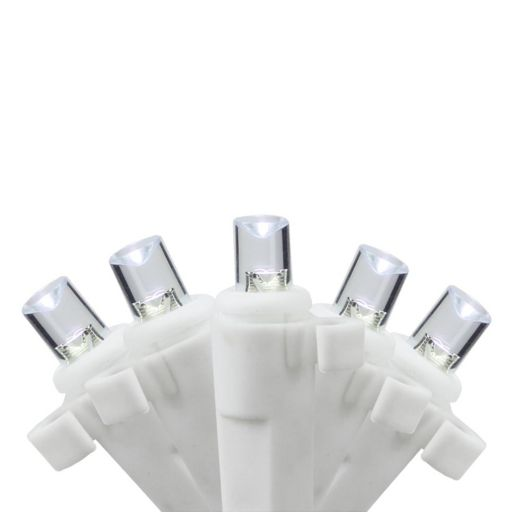 35 White Wide Angle LED Indoor Icicle Christmas Lights