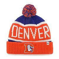 Adult '47 Brand Denver Broncos Cuffed Knit Beanie