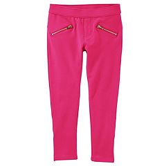 Girls 4-12 OshKosh B'gosh® French Terry Skinny Pants