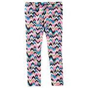 Girls 4-12 OshKosh B'gosh® Printed Glitter Leggings