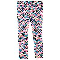 Girls 4-12 OshKosh B'gosh® Printed Glitter Leggings