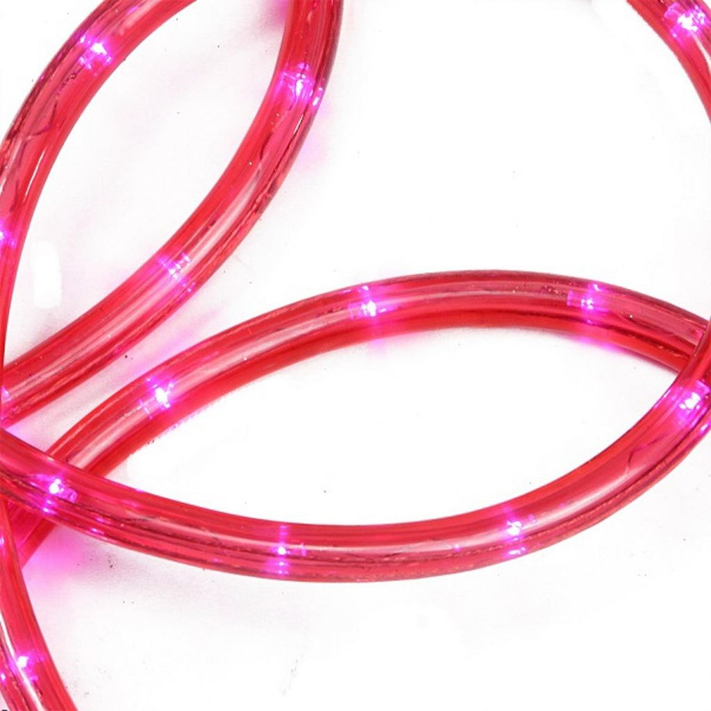 18-ft. Pink LED Indoor / Outdoor Christmas Rope Lights