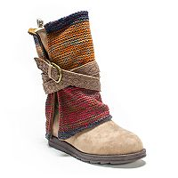 MUK LUKS Nevia Women's Fold-Over Midcalf Boots