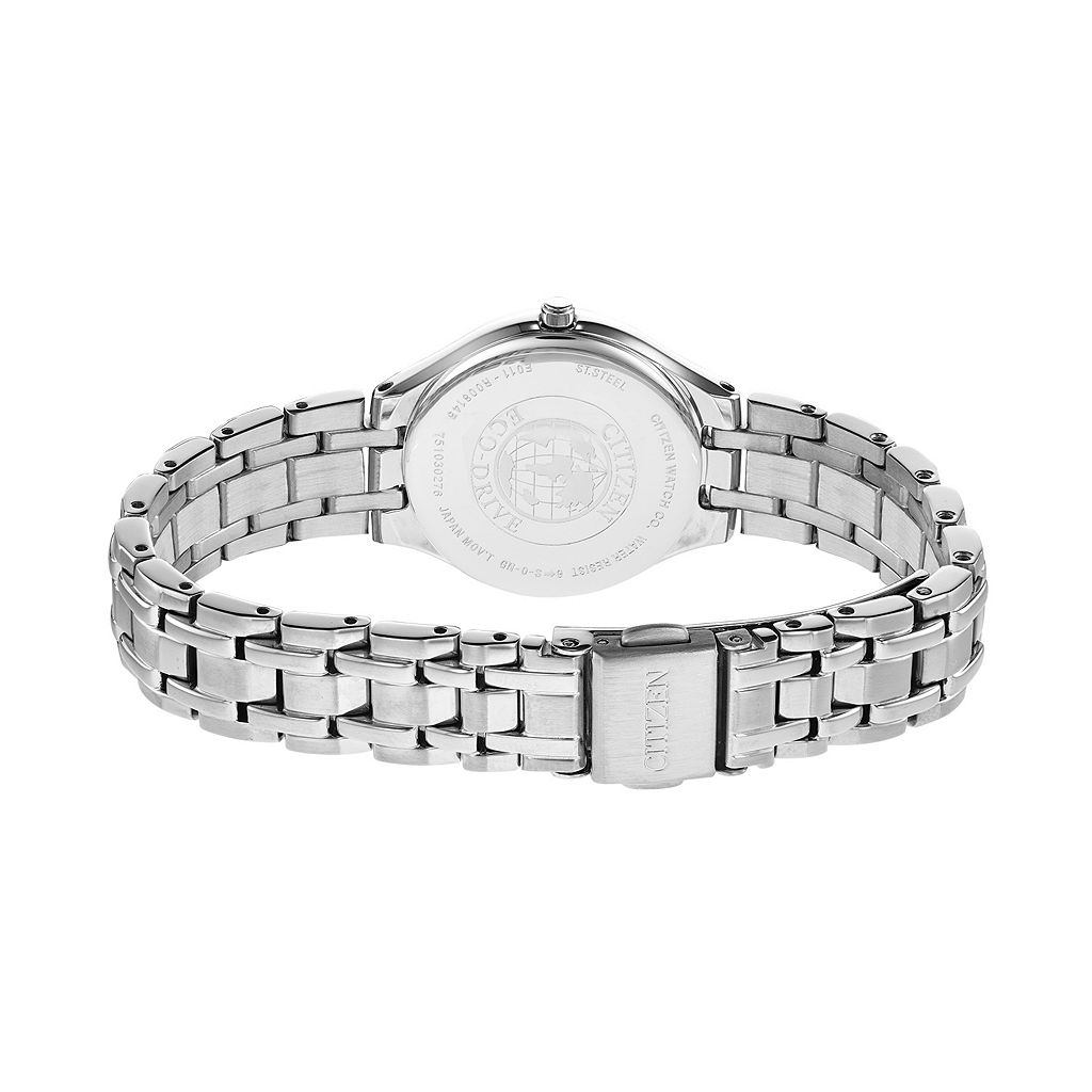 Citizen Eco-Drive Women's Corso Stainless Steel Watch - EW2480-59A