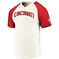 Men's Majestic Cincinnati Reds Season Up Tee