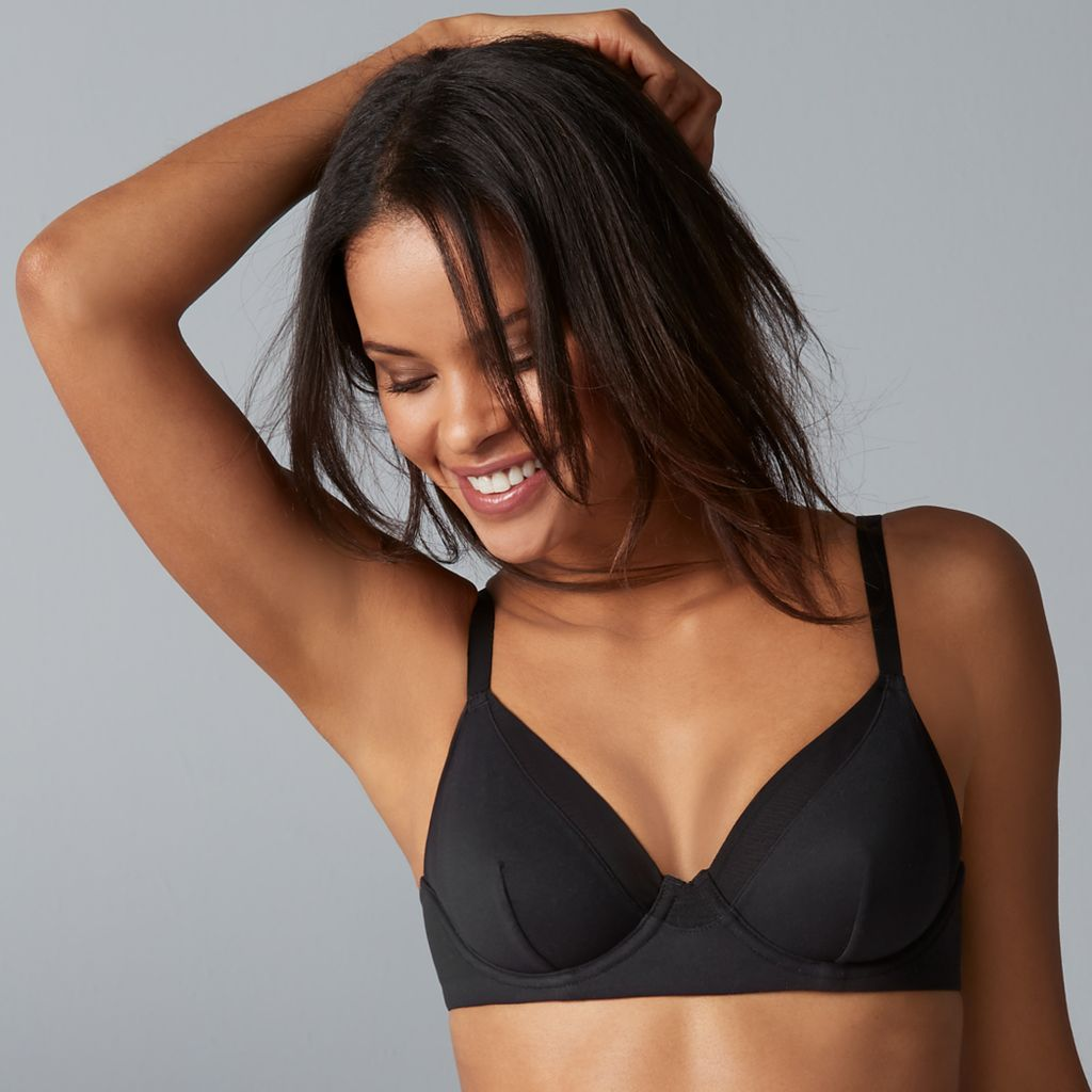 Vanity Fair Breathable Luxe Full Coverage Unlined Underwire Bra 75237