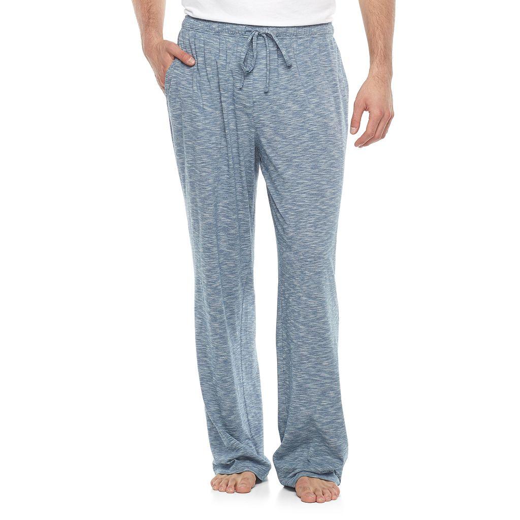 Big & Tall Croft & Barrow® Slubbed Knit Lounge Pants