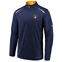 Men's Majestic Milwaukee Brewers Pullover