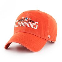 Adult '47 Brand Houston Astros 2017 American League Champs Clean Up Adjustable Cap