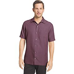 Men's Van Heusen Air Classic-Fit Dobby Casual Button-Down Shirt