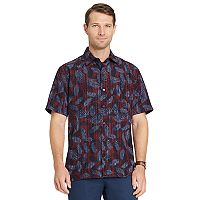 Men's Van Heusen Air Classic-Fit Patterned Button-Down Shirt