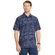 Men's Van Heusen Air Classic-Fit Patterned Button-Down Shirt
