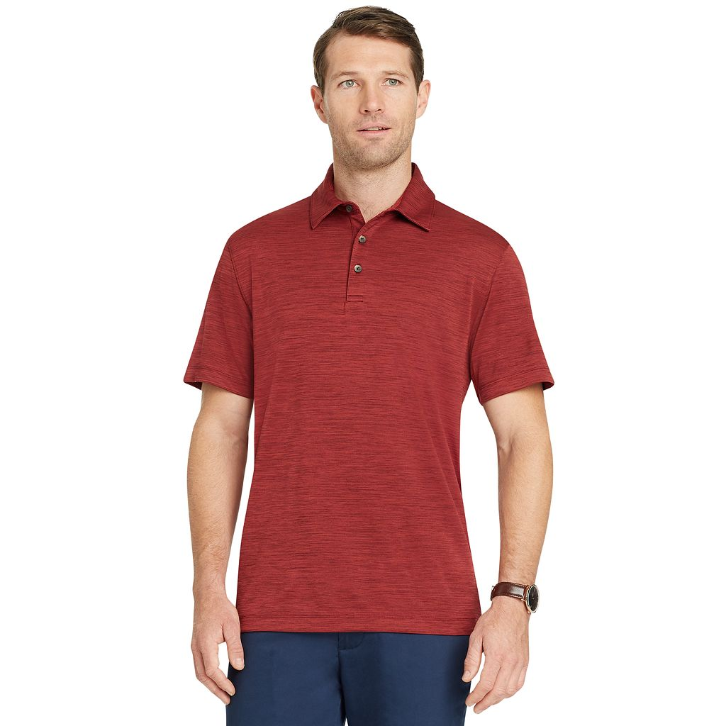 Men's Van Heusen Classic-Fit Space-Dyed Air Performance Polo