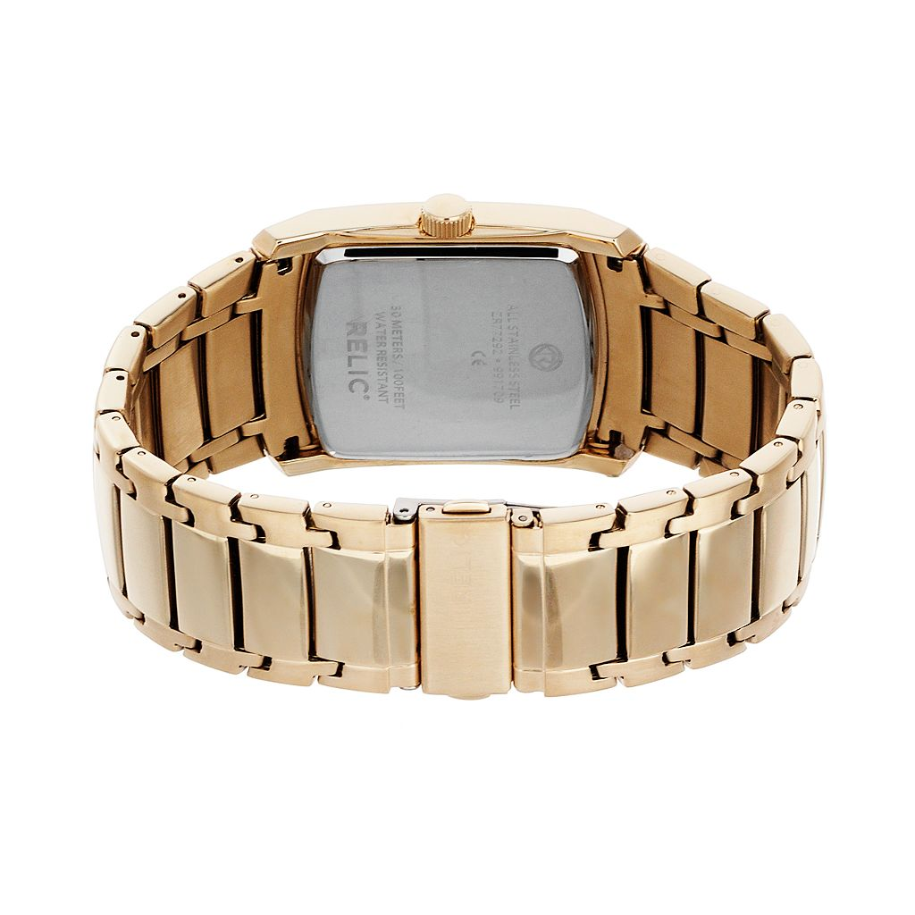 Relic Men's Raymond Diamond Accent Stainless Steel Watch - ZR77292