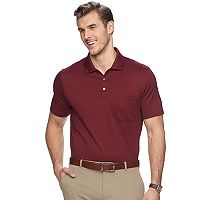 Men's Van Heusen Flex Classic-Fit Jacquard Striped Polo