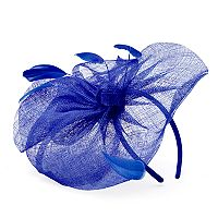 Women's Bow & Feather Fascinator