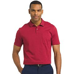 Men's Van Heusen Classic-Fit Striped Jacquard Polo