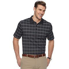 Men's Van Heusen Classic-Fit Windowpane Polo