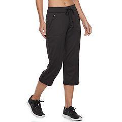 Women's Tek Gear® Zipper Pocket Capris