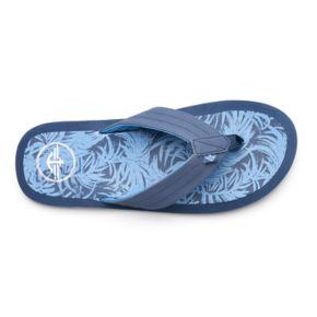 Men's Dockers Palm Tree Flip-Flop Sandals